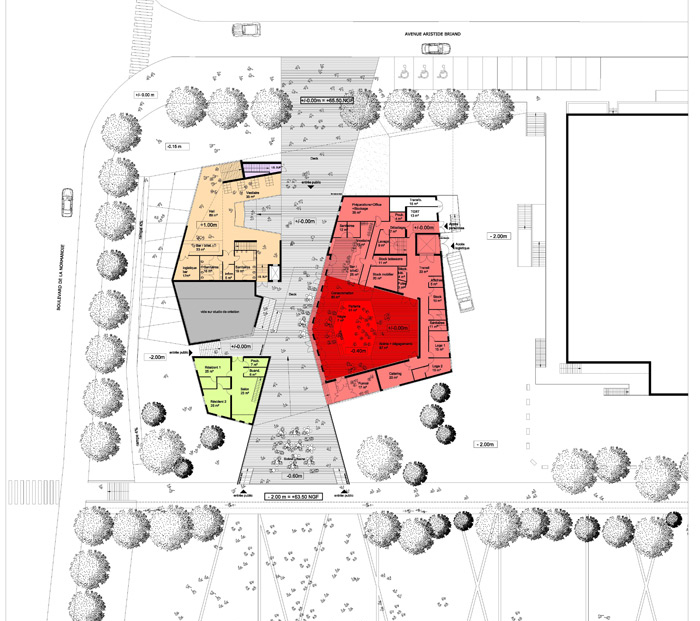 new music hall herault arnod architectes. Black Bedroom Furniture Sets. Home Design Ideas