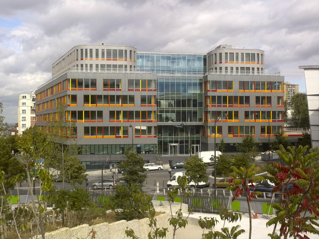 Office Building – Porte des Lilas, Paris - - Hérault Arnod