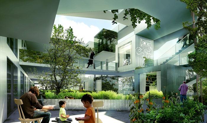 urban living herault arnod architectes. Black Bedroom Furniture Sets. Home Design Ideas