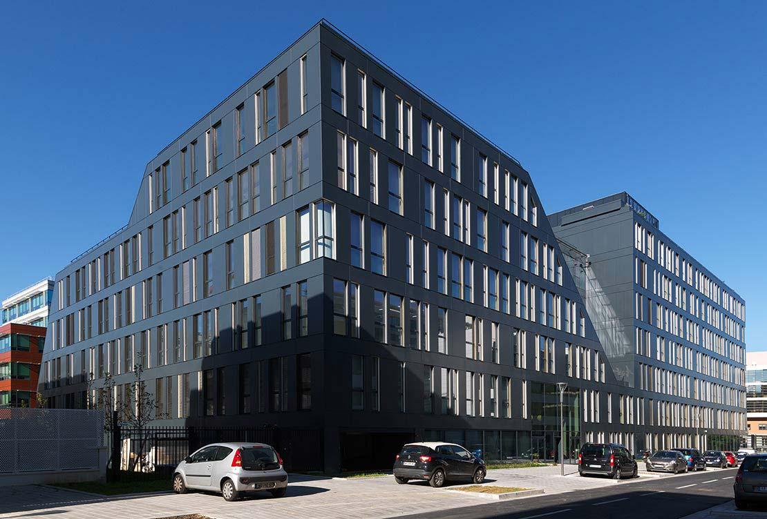Immeuble de bureaux h rault arnod architectures for Architecte interieur herault